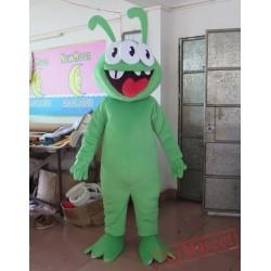 Green Three Eyes Monster Costume Monster Mascot Monster Mascot Costume For Adult