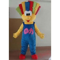 New Style Clown Mascot Costume Adult Clown Mascot