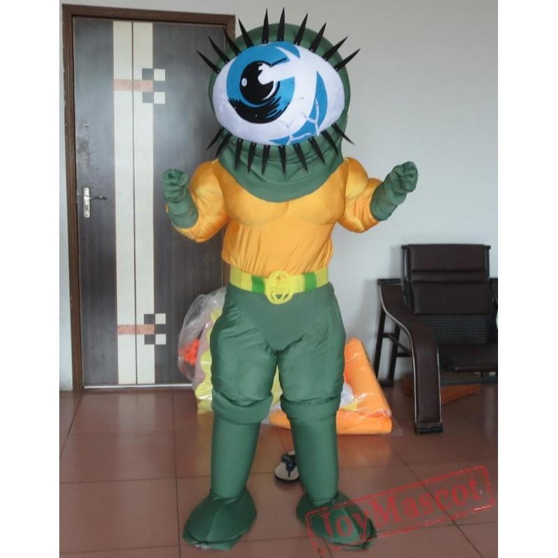 adult eyeball mascot costume