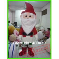 Adult Santa Claus Mascot Costume For Christmas