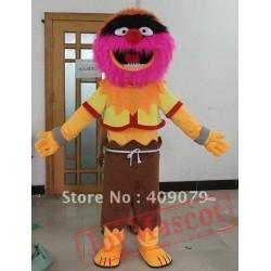 The Drummer Monster Animal Mascot Costume