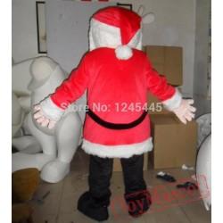 Adult Santa Claus Mascot Costume