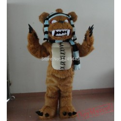 Good Version Plush Monster Brown Monster Mascot Costume