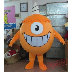 Orange Monster Costumes For Adults Monster Mascot Costume