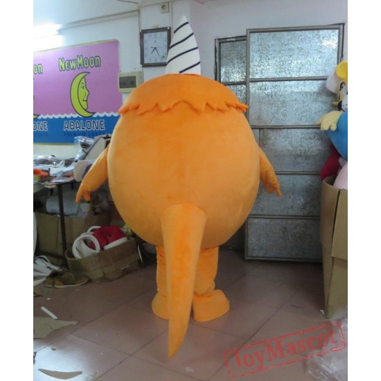 Orange Monster Costumes For Adults Monster Mascot Costume