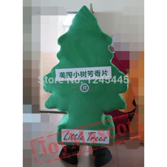 Christmas Tree Mascot Adult Santa Tree Mascot Costume