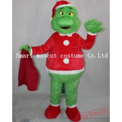 Green Monster Costume Adult Monster Mascot Costume