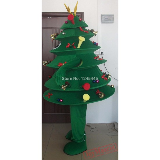 Christmas Costume Tree Mascot Costume Christmas Tree Costume For Adult