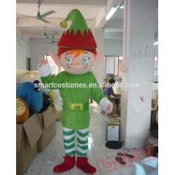Adult Elf Mascot Costume Easy Wearing Elf Mascot Costume