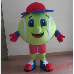 Colorful Mascot Tennis Ball Tennis Ball Mascot Costume For Adults