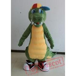 Green Crocodile Mascot Costume For Adults Crocodile Mascot Costume