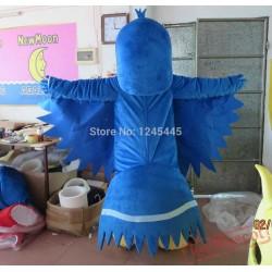 Adult Carnival Bird Costume Blue Bird Mascot Costumes