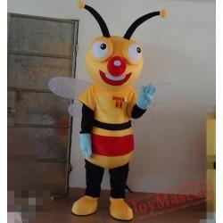 Adult Bee Mascot Costume