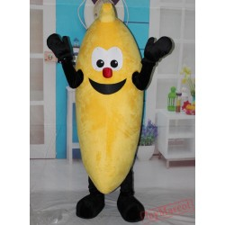 Banana Mascot Costume For Adult