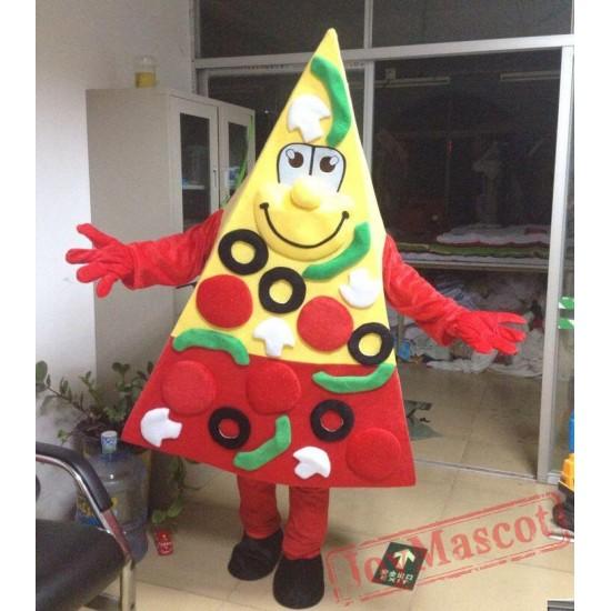 Adult Pizza Mascot Costume