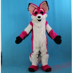 Plush Material Adult Fox Mascot Costume