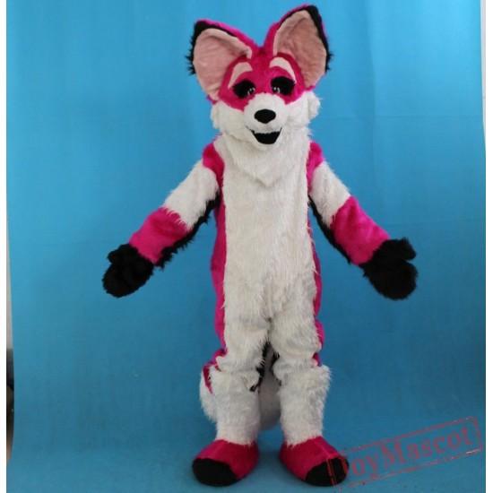 Plush Material Adult Fox Mascot Costume
