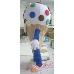 Adult Ice Cream Mascot Costume