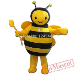 Hornet Bee Mascot Costume For Adults