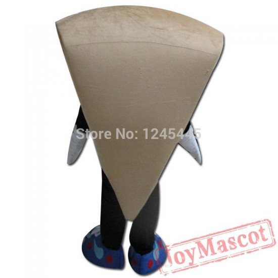Pizza Mascot Costume For Adult