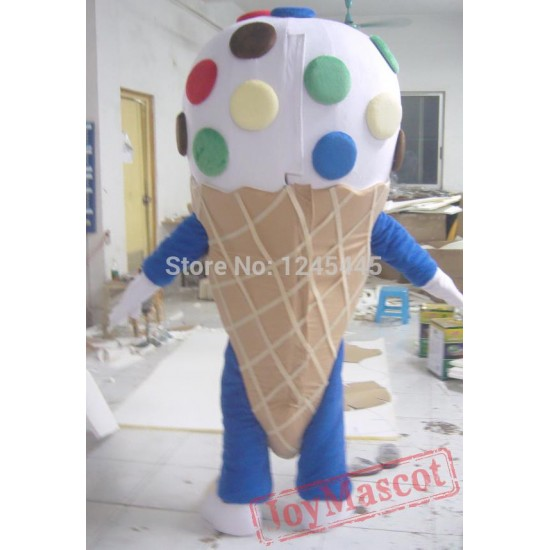 Ice Cream Mascot Costume For Adult