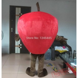 Fruit Mascot Adult Apple Costume