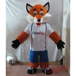 Sports Style Fox Mascot Costume Adult Fox Mascot