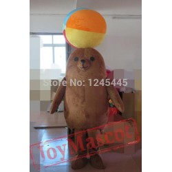 Sea Lion Mascot Costume For Adults