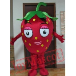 Adult Strawberry Mascot Costume Fruit Mascot Costume