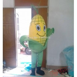 Plant Mascot Costume Sweet Corn Mascot Costume For Adults