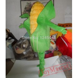Costume With Green Corn Mascot Costume For Adult