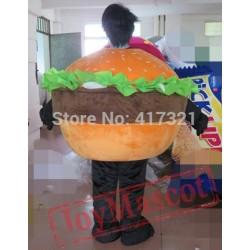 Meat Hamburger Mascot Costume For Adults Hamburger Costume