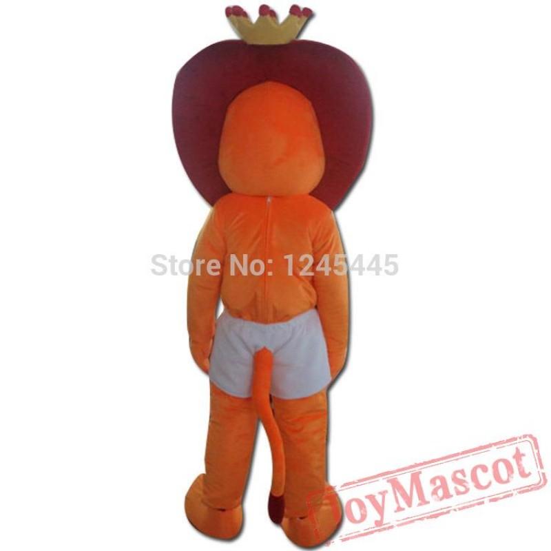 sc 1 st  Mascot Costumes & Lion Mascot Adult Lion Costume