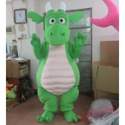 Green Adult Dinosaur Mascot Costume Adult Dinosaur Costumes