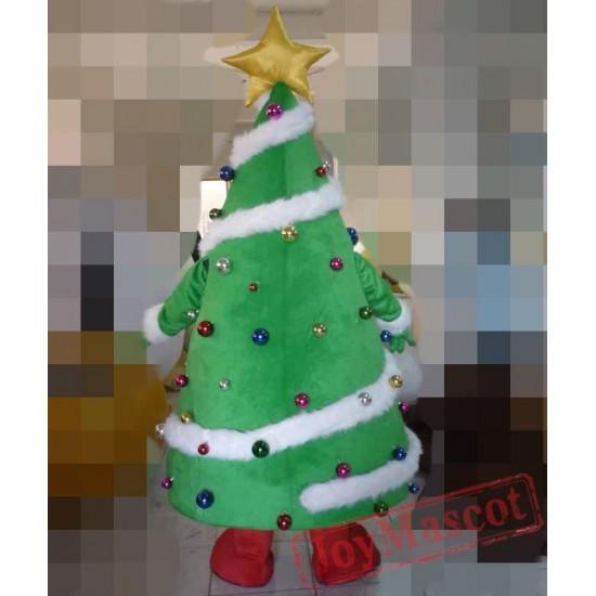 Christmas Tree Costume Adult Christmas Mascot Costume