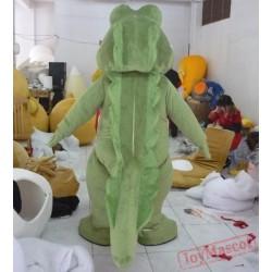 Crocodile Mascot Costume For Adults Crocodile Mascot Costume