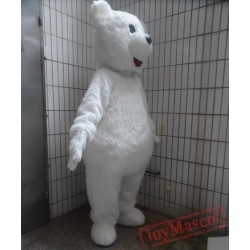 Adult Animal Costumes White Polar Bear Mascot Costume For Adults