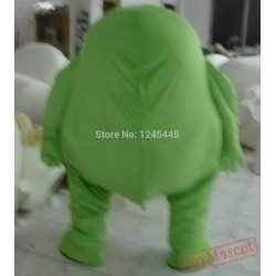 Green Monster Mascot Costume Green Monster Mascot For Adult