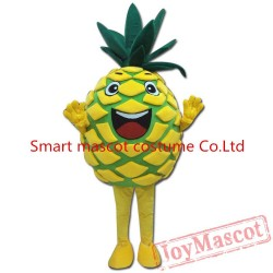 Fresh Fruit Costume Pine Apple Mascot Costume For Adult