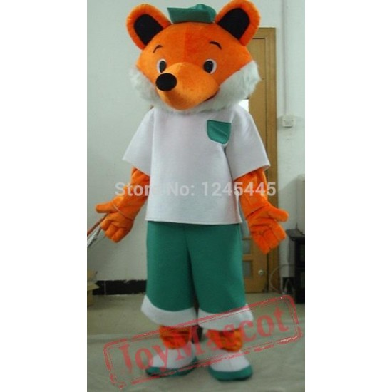 Adult Fox Mascot Costume Adult Fox Costumes