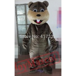 Coffee Beaver Mascot Costume For Adults Beaver Mascot