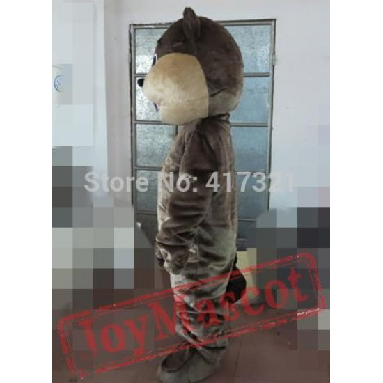 Coffee Beaver Mascot Costume For Adults Beaver Mascot