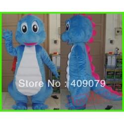 Adult Mascot Costume Blue Dinosaurs Mascot Costume