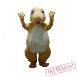 Charmander Pokemon Anime Mascot Costume