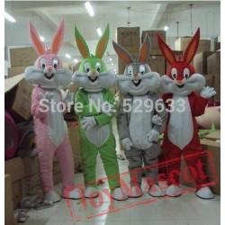 Bunny Mascot Adult Costume