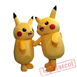 Pikachu Mascot Costume Cartoon Costume