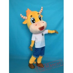Cow Mascot Costume For Halloweens/Advertising