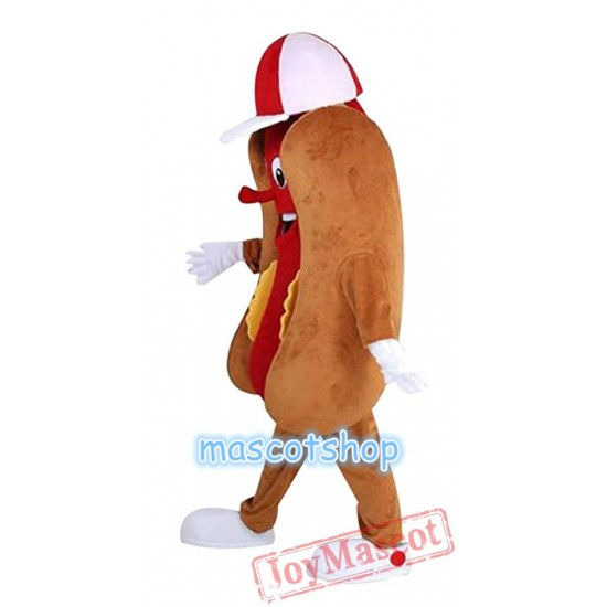 Hot Dog Mascot Costume Hotdog Sausage Mascot Costume