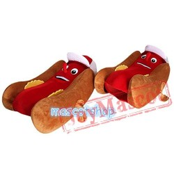 Hot Dog Mascot Costume Hotdog Sausage Mascot Costume