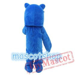 Blue Shark Mascot Costume Mascot Costumes For Adults